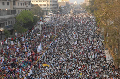 April 2007 Rallies in Pakistan