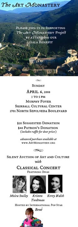 Art Monastery L.A. Fundraiser