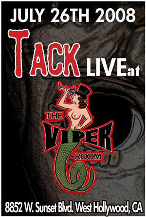 Rock Music by TACK at the Viper Room