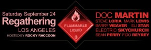 Flammable Liquid Underground L.A. After Hours Party