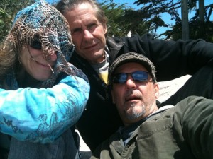Bava, Twan, and Lynne in Carmel